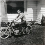 Gary Buttice on his Indian