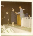 Elaine Logan receives diploma