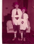 Sadie Hawkins '58 Judy Durand and Mike Ryles '58