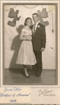 Jeune Fille 1956 Judy Durand and Gene Teal