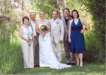 Helene, Richard, Jenn Jaffe, wife of Bryan, Jay and wife Andra Jaffe.         Helene, Richard, Jenn Jaffe, wife of Bryan