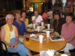 August 22, 2009 - Judy Durand Chermak, Sharon Weathers Clements, Patty Herring Lucarelli, Rosemary Foss Lee, Shan Beck M