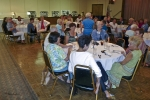 LOTS o'ladies at the Elks for a luncheon.