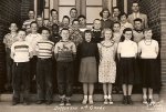 Jefferson School 6th Grade. 1953
