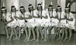 High school girls dressed like Indian maidens for some reason.  I'm second from the right (Lynn Davison Suckow) but don