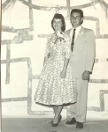 Pat Herring & Johnny Lucarelli  Homecoming Dance 1958