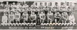 Garrison Football Team 1955