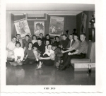 Group picture at party - Sharon Weathers December 1958