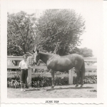 Judy Durand and horse