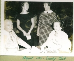 Judy Durand, Elaine Logan, and Mr. and Mrs. Logan