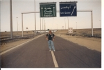 'Hey, I must have taken a wrong turn!'  (Steve Singleton, Iraq)