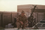 Playing in the big Desert Storm sandbox - (Steve Singleton, Riyadh)