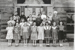 Washington School 4th Grade - 1951  F Row/Glenda Brown, Patricia, Nora Jane Wilson, Patricia Hardin, Joyce Nungesor, Car
